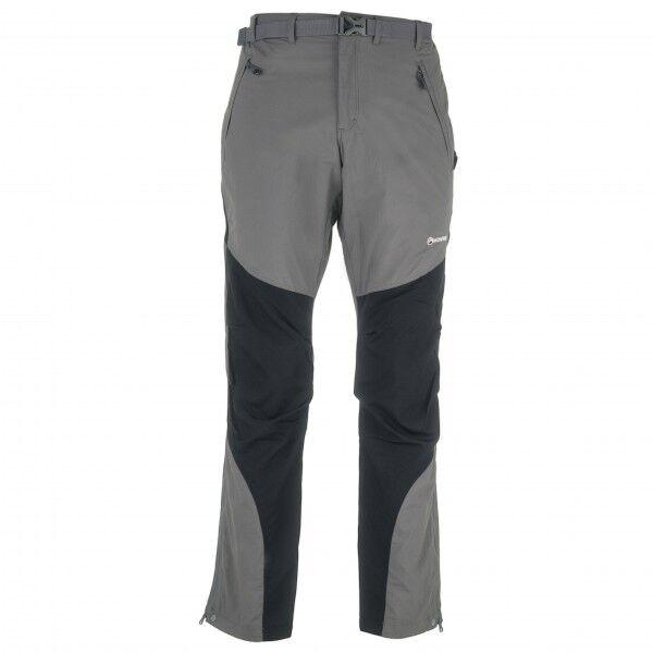 Montane Terra Pants Pantaloni da trekking (L - Regular, grigio/nero)