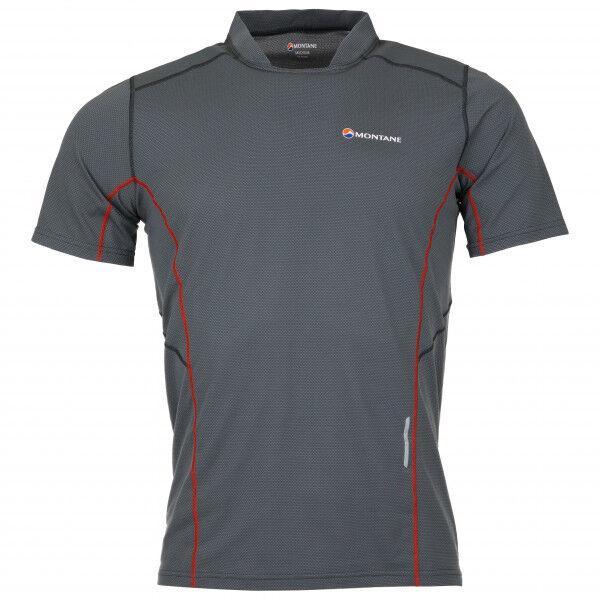 Montane Razor T-Shirt Maglia da corsa (M, grigio/nero)