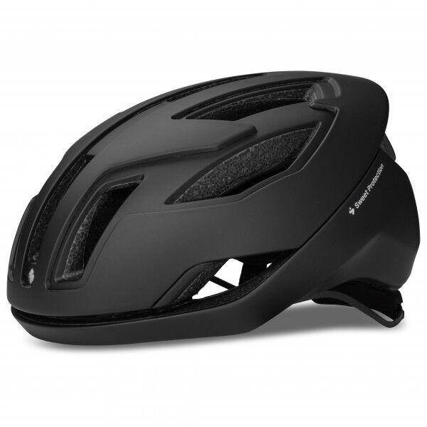 Sweet Falconer II Helmet Casco per bici (M, nero/grigio)
