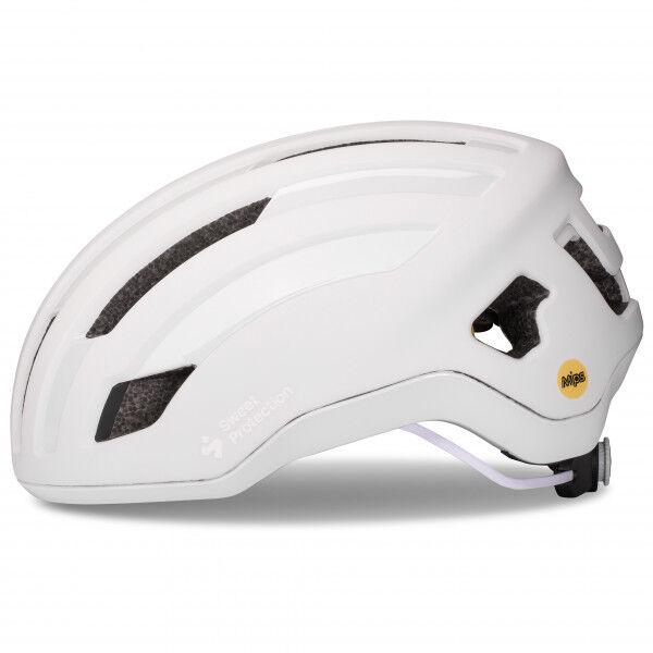 Sweet Outrider Mips Helmet Casco per bici (S, grigio/bianco)