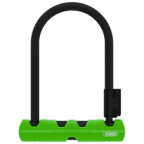ABUS Ultra Mini 410 Lucchetto per bicicletta (140 mm, nero/verde)