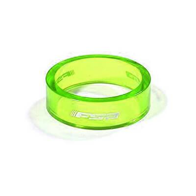 FSA Poly Spacer 1 1/8'' 10 mm (10-Pack) verde