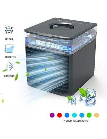 nexfan ultra condizionatore portatile con uv- nero