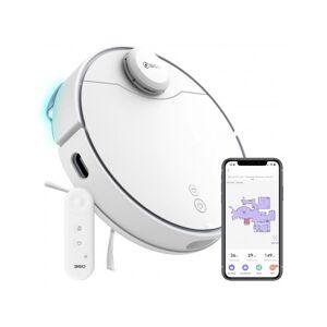 360 S9 Robot Aspirapolvere e Lavapavimenti - Bianco