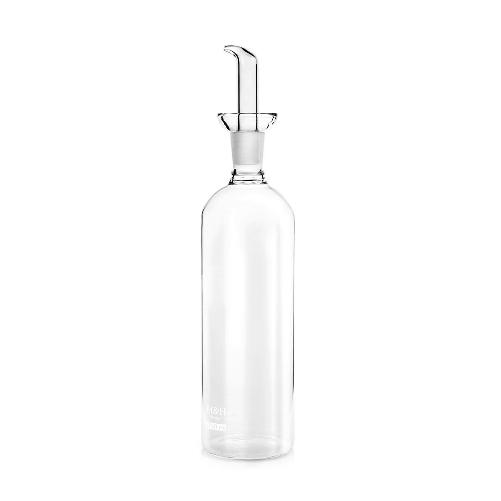 Caleffi Ampolla per condimento Trasparente Cilindric 1 Pezzo in Borosilicato