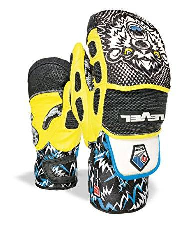 Guanto Level World Cup Mitt Black Yellow