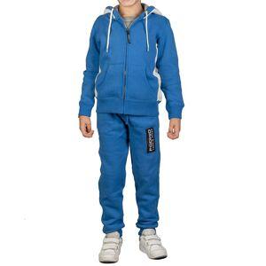 PODHIO Tuta ginnastica Pobhio Fisi (Colore: azzurro, Taglia: 7-8A)