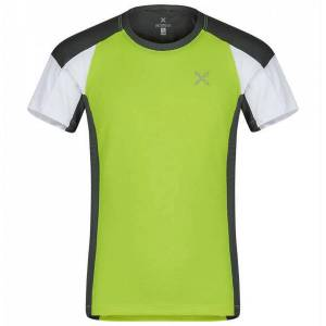 MONTURA T-shirt trekking Montura Sport (Colore: verde acido-piombo, Taglia: 8Y)