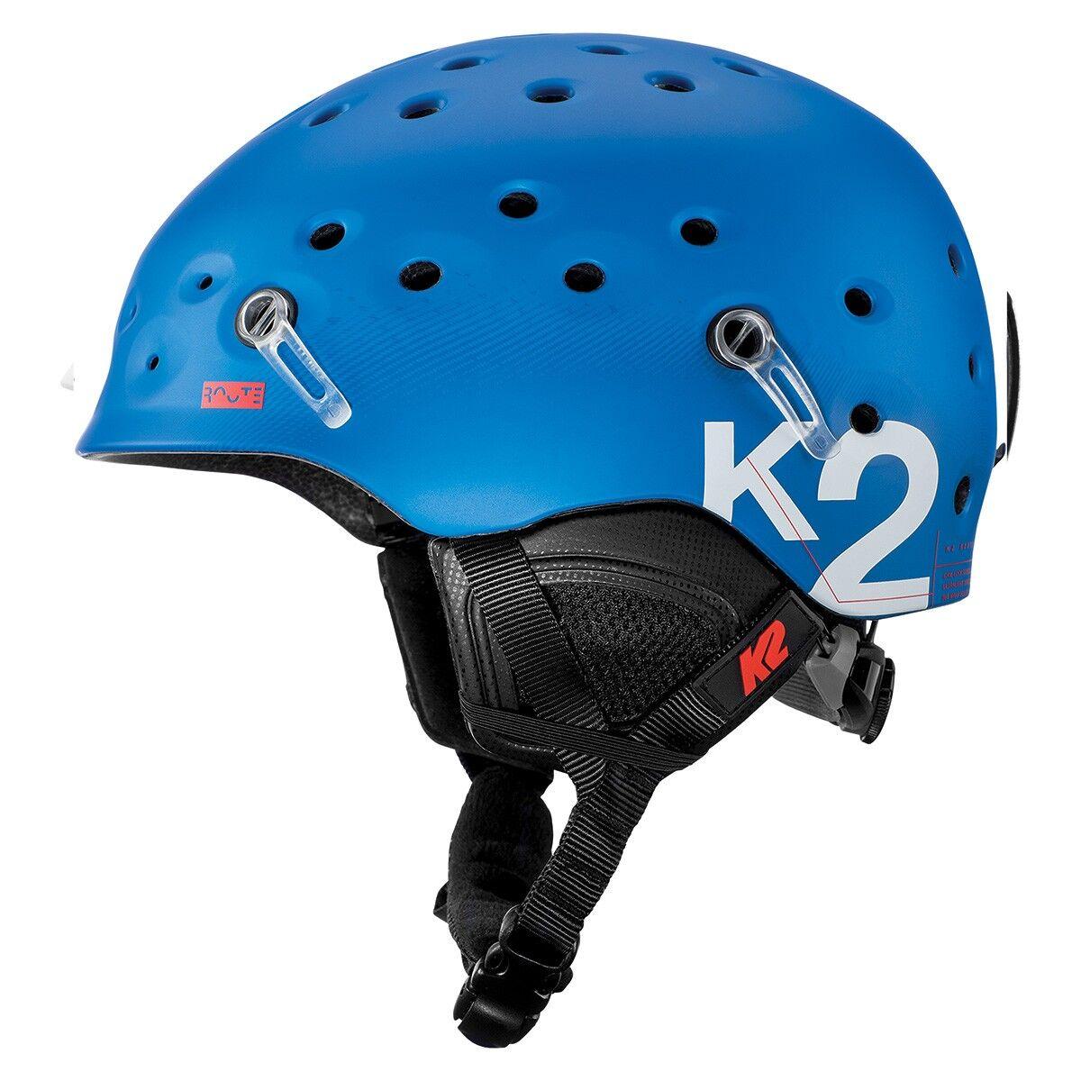 K2 Casco sci K2 Route (Colore: blu, Taglia: 51/55)