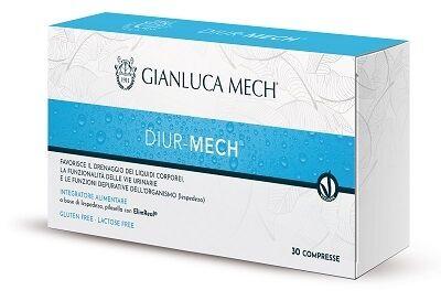 Gianluca Mech Spa Diur Mech 30 Compresse Tisanoreica