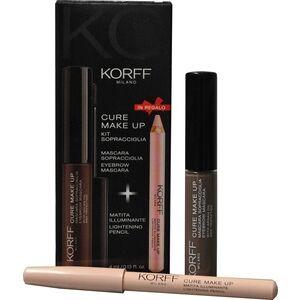 korff (div. ist. ganassini) korff make up mascara sopracciglia 01 + matita illuminante 01