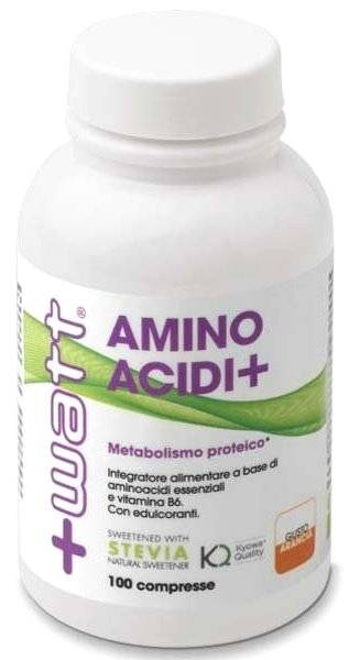 + watt srl aminoacidi+ 100 compresse