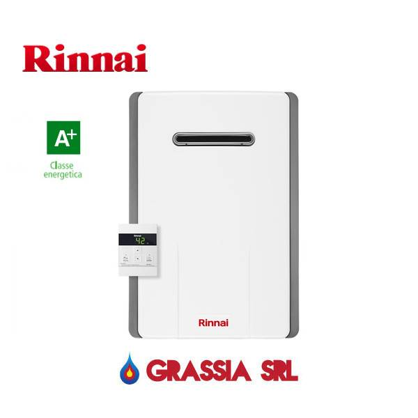 Rinnai Scaldabagno A Gas Metano One 11 Esterno Reu-A1111w-E-Ng New 2019