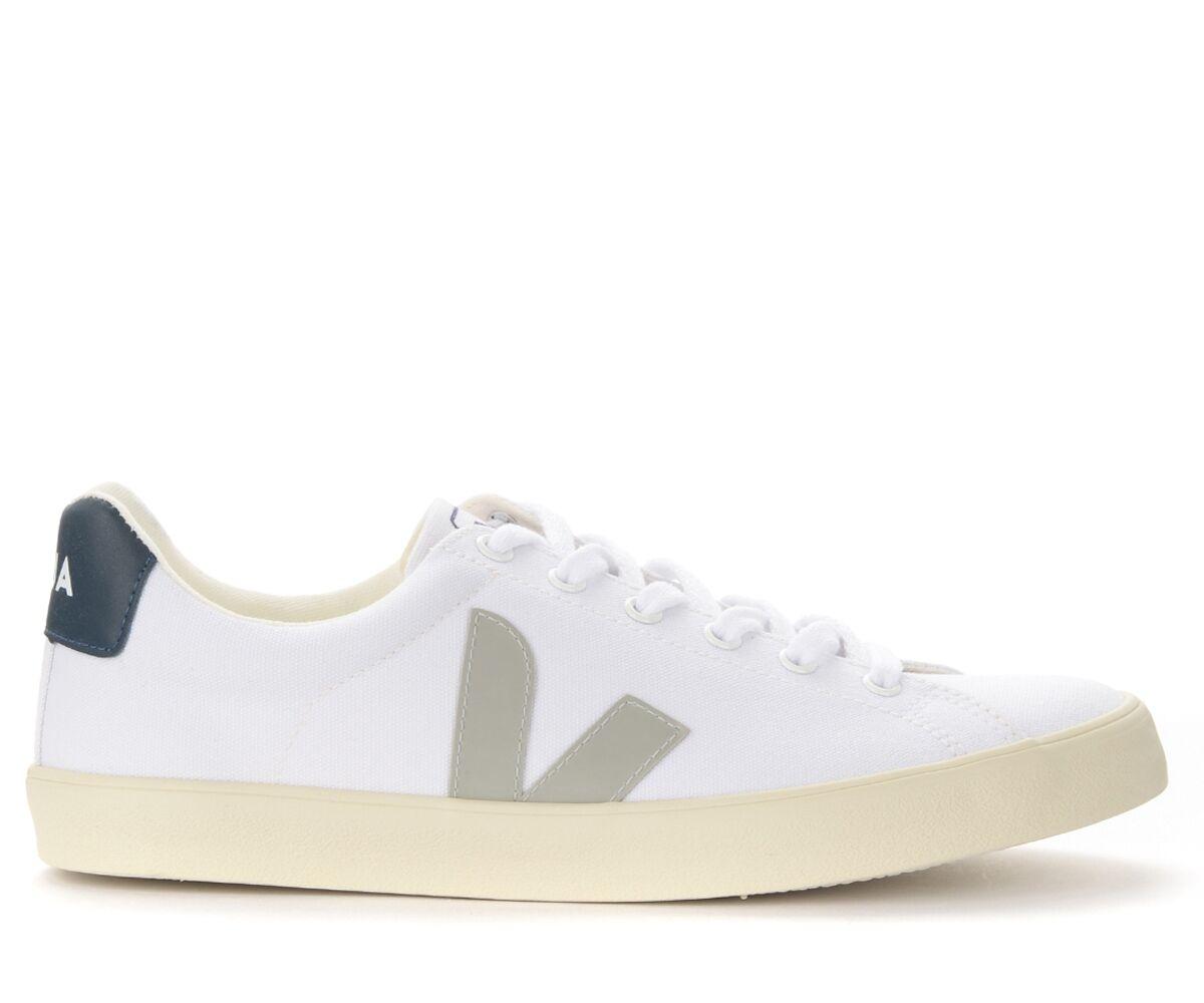 VEJA Sneaker da uomo Veja Esplar in canvas bianco