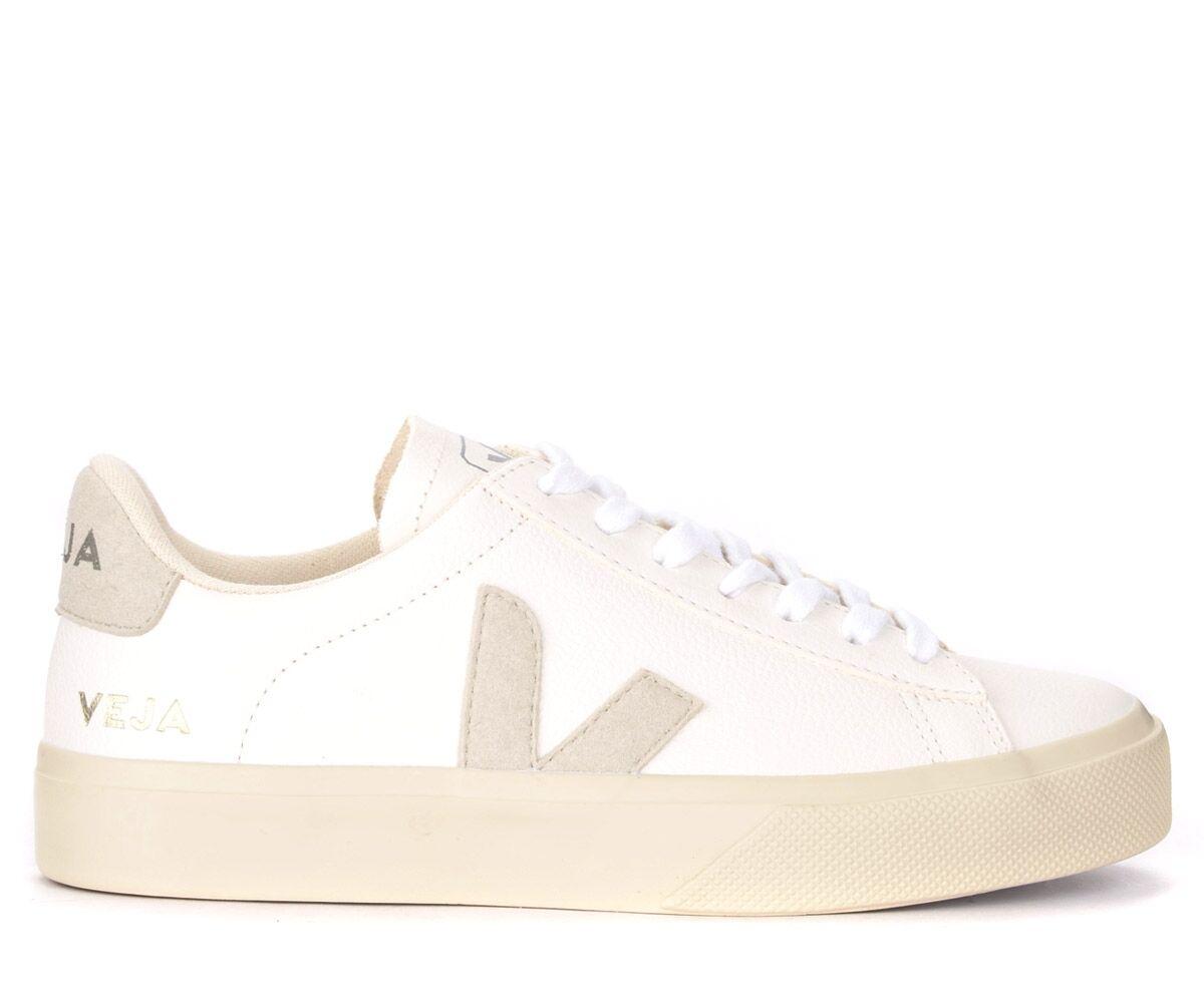VEJA Sneaker Veja Campo Chromefree da uomo in pelle bianca