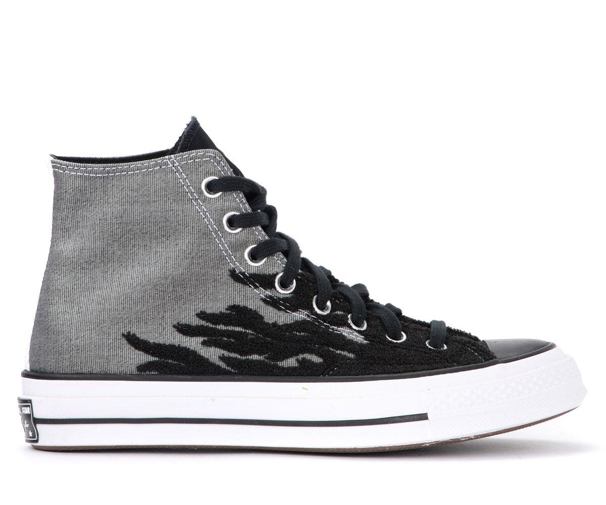 Converse Sneaker alta Converse Chuck 70 bicolore con fiamme