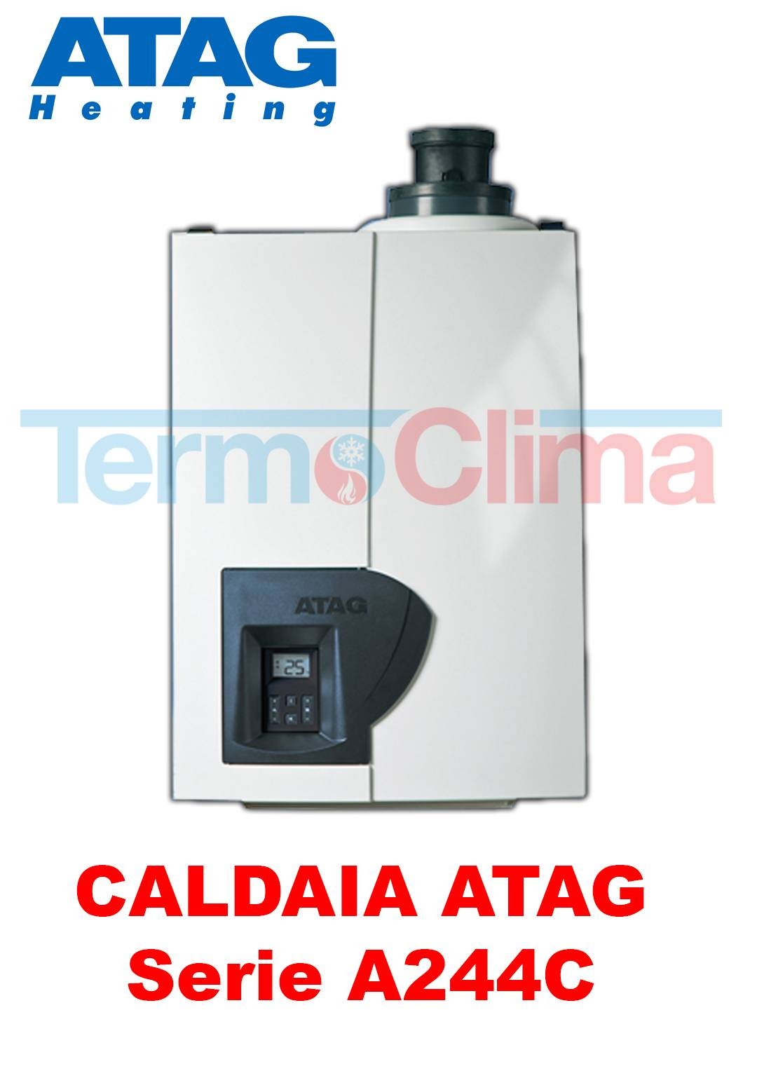 Caldaia A Condensazione Instantanea A Metano Atag A244c 28 Kw