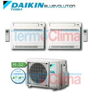 Daikin Climatizzatore Condizionatore Dualsplit Pavimento Inverter Bluevolution 900012000 Btuh Fvxm25ffvxm35f 2mxm50m R32 A A Wi Fi Optional