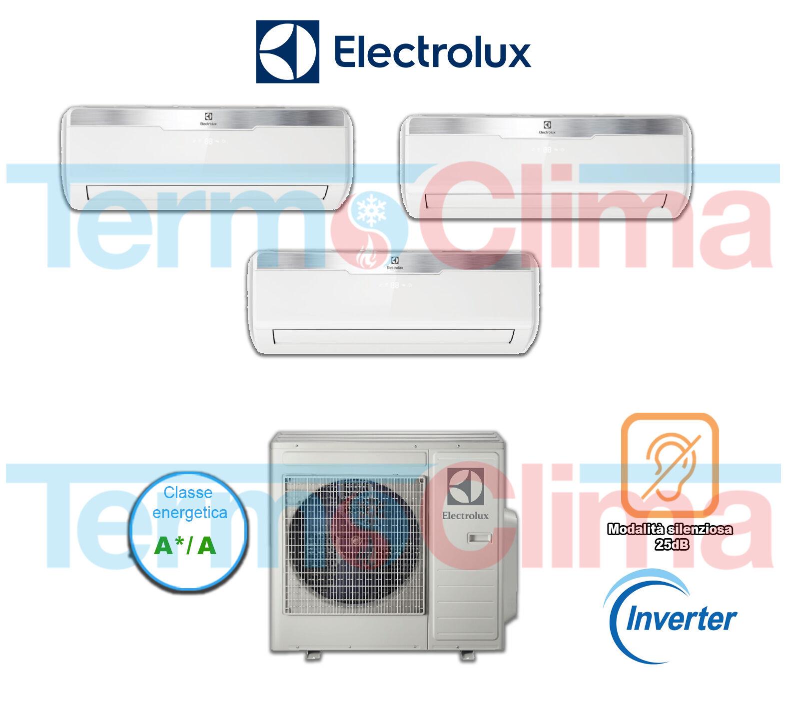 Climatizzatore Condizionatore Trial Split Trialsplit Exo42heiwe 9912 Inverter Electrolux 9000900012000 Btu Gas R410 A A Wifi Optional