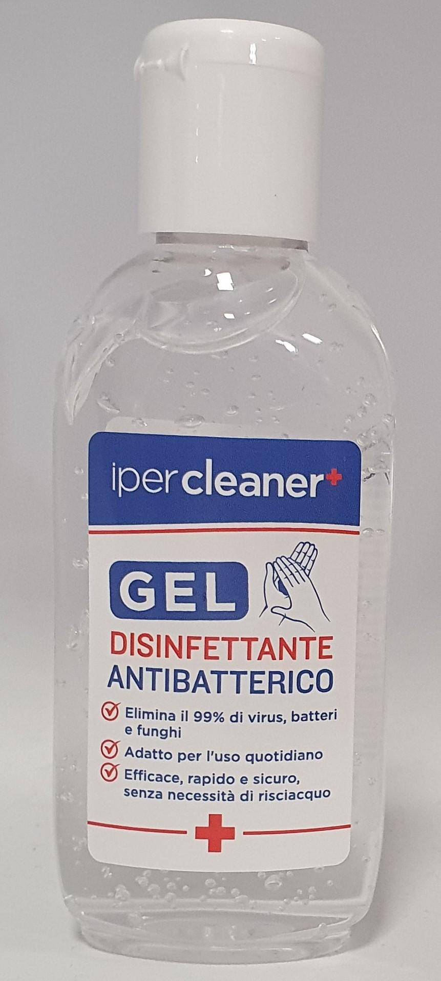 iper cleaner disinfettante mani gel 80 ml