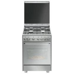 SMEG cucina cx60svpz9 inox vapore CX60SVPZ9 Cucine a gas Forno elettrico ventilato