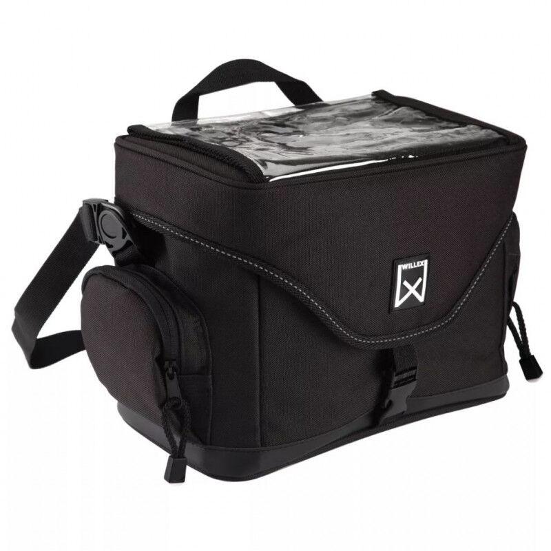 Willex borsa da manubrio per bicicletta 9 l nero 13101 Videocamere Tv - video - fotografia