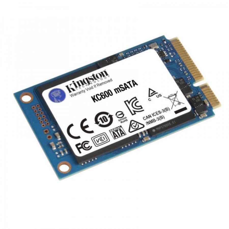 Kingston 1024gb kc600ms sata3 msata ssd only drive Componenti Informatica