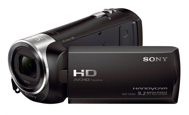 Sony movie hdrcx240eb Monitor digital signage Tv - video - fotografia