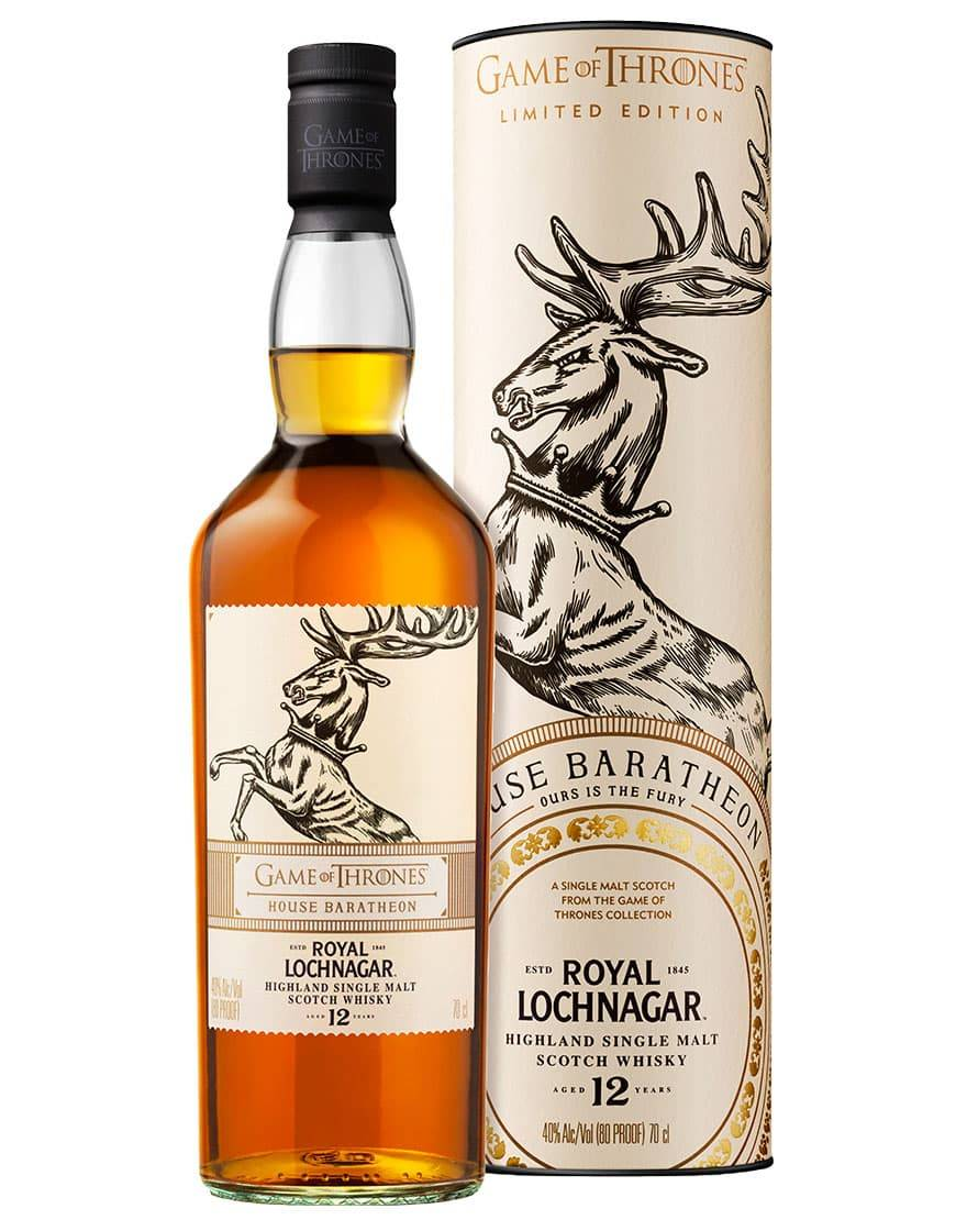 Game of Thrones House Baratheon: Royal Lochnagar Aged 12 Years Highland Single Malt Scotch Whis