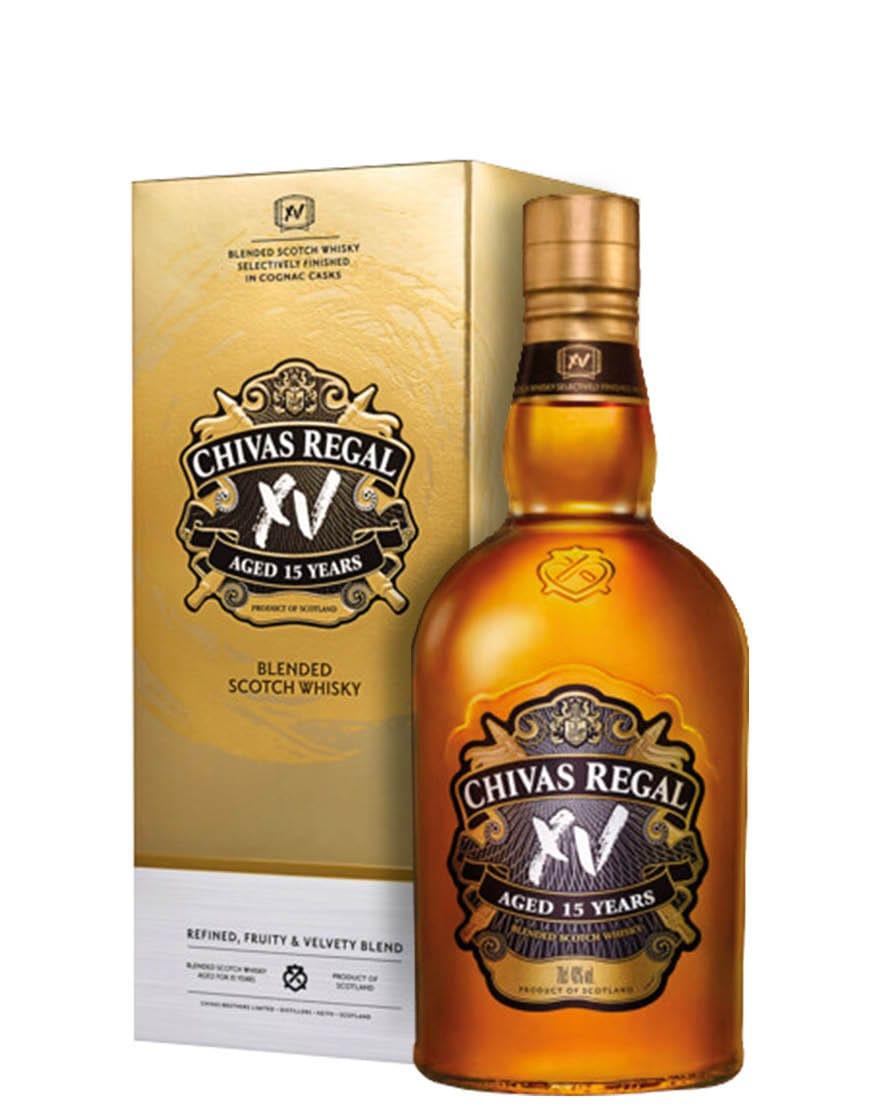 Chivas Regal XV 15 Year Old Blended Scotch Whisky Chivas Regal 0,7 L, Astucciato