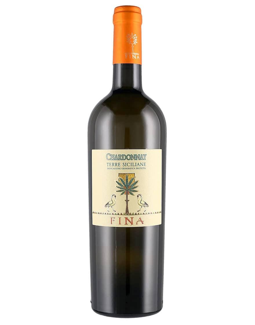 Cantine Fina Terre Siciliane IGT Chardonnay Cantine Fina 2018 0,75 ℓ
