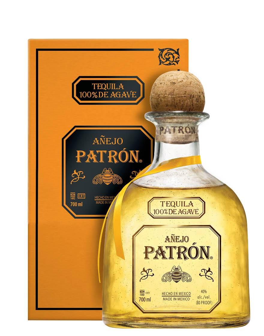 Patron Tequila Añejo Patron 0,7 ℓ