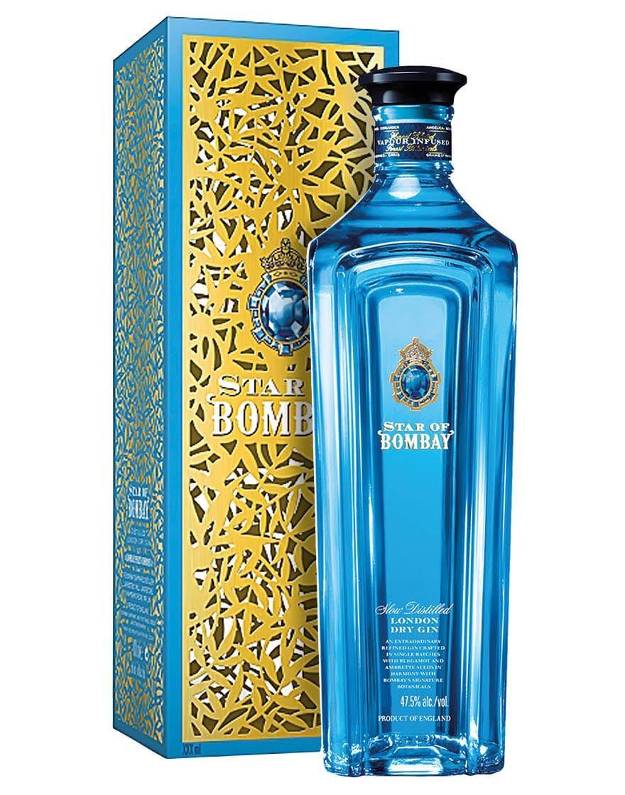 Sapphire Star of Bombay London Dry Gin Bombay Sapphire 0,7 ℓ, Astucciato