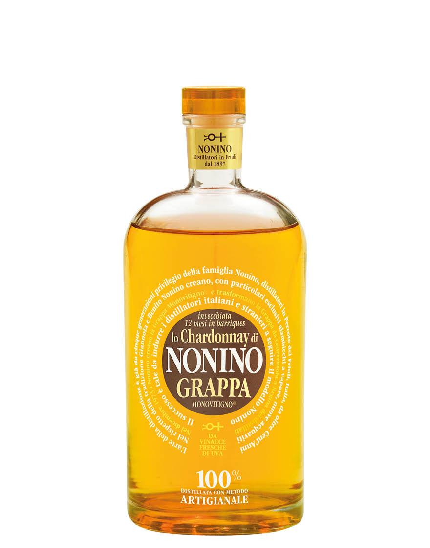 Nonino Grappa Monovitigno Chardonnay Invecchiata 12 mesi in Barrique Nonino 0,7 ℓ