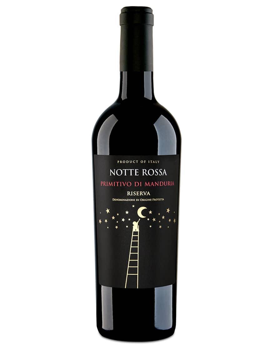 Notte Rossa Primitivo di Manduria Riserva DOC Notte Rossa 2017 0,75 L