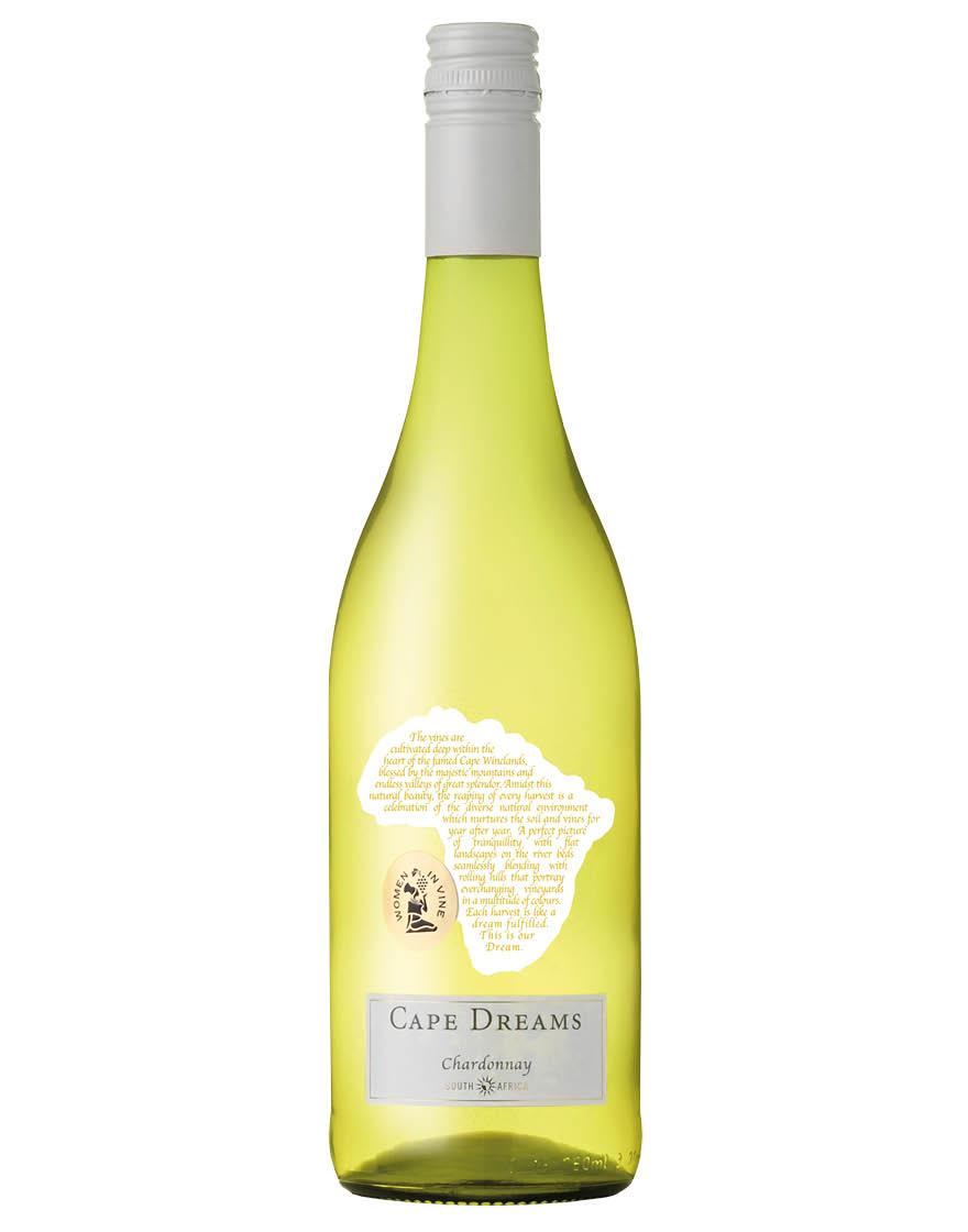 Cape Dreams South Africa Chardonnay Cape Dreams 2020 0,75 ℓ