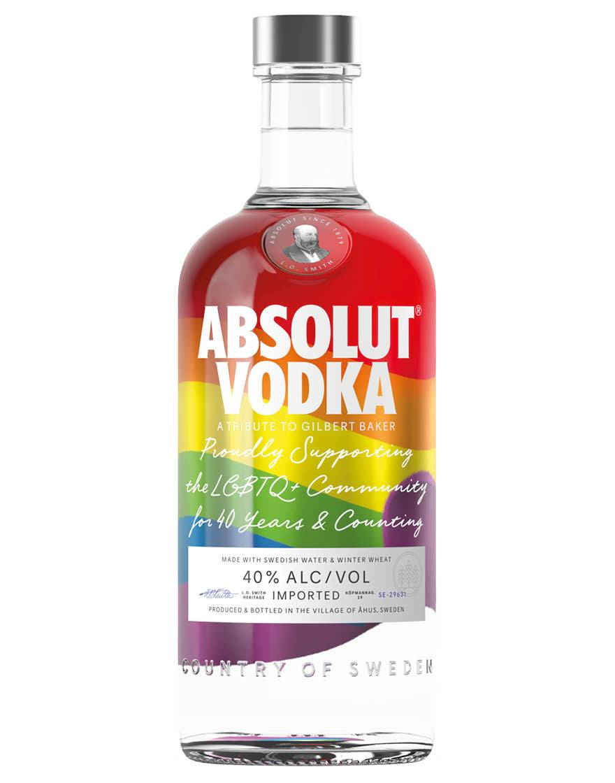 Absolut Vodka Rainbow Limited Edition Absolut 0,7 ℓ