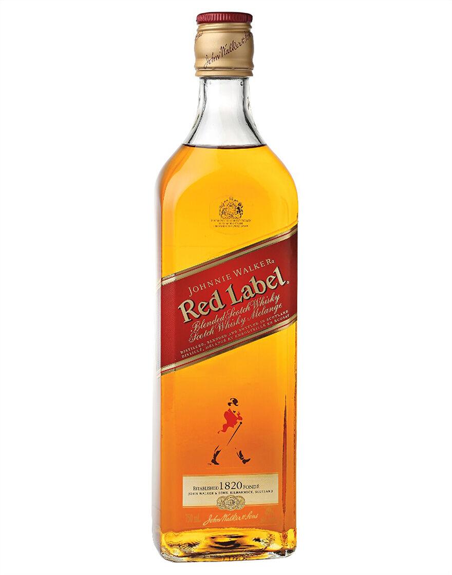Johnnie Walker Red Label Blended Scotch Whisky Johnnie Walker 0,7 ℓ
