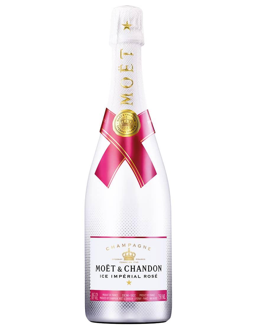 Moët & Chandon Champagne Demi-Sec AOC Ice Imperial Rosé Moët & Chandon 0,75 ℓ