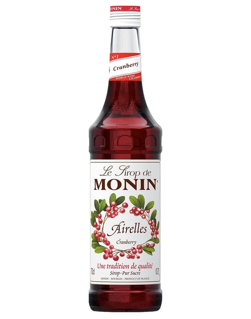 Monin Sciroppo di Mirtillo Rosso Cranberry Monin 0,7 ℓ
