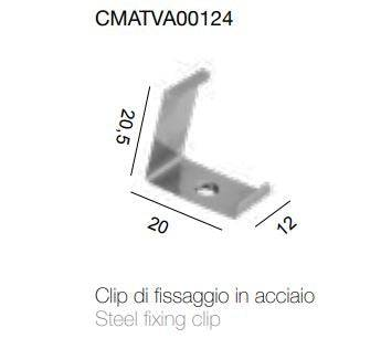 stealth light steel fixing clip   1 pieces