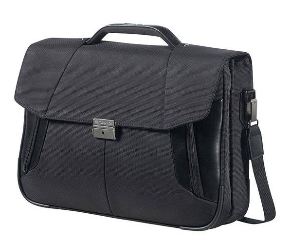 "Samsonite Cartella 2 comparti porta pc 15,6"" Samsonite XBR nera"