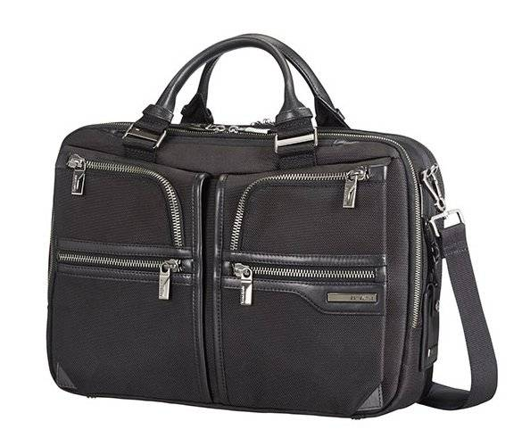"Samsonite Borsa lavoro 2 comparti espandibile porta pc 15,6"" Samsonite GT Supreme nera"
