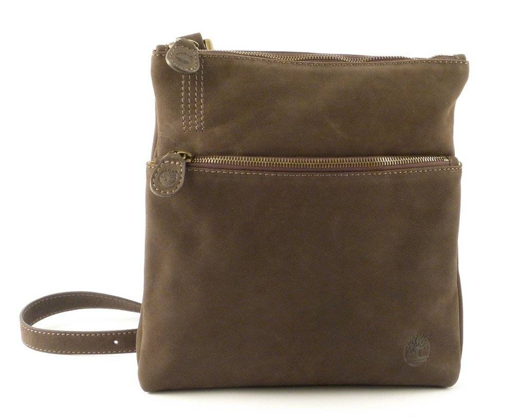 Timberland Borsa uomo in pelle Timberland A1AY7 marrone 544 Made in Italy
