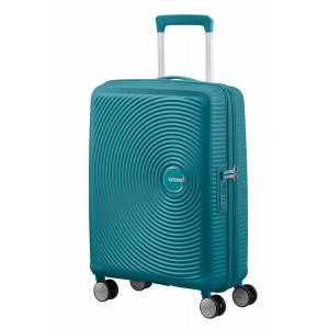 American Tourister Trolley cabina espandibile American Tourister Soundbox Jaded Green