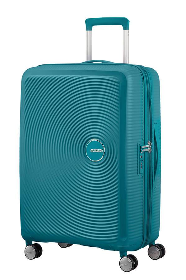 American Tourister Trolley espandibile American Tourister Soundbox 67cm Jaded Green