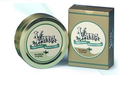 Chefaro Pharma Italia Valda Classiche scatola Metallo Pastiglie gommose con zucchero 50 G