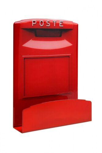 Creativando Portaoggetti Mail Box Rosso