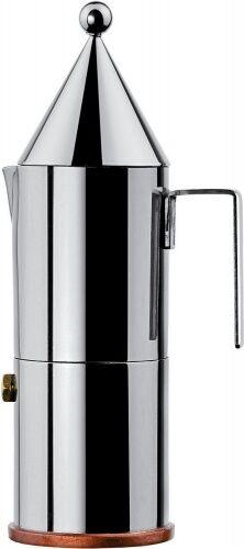 Alessi 90002/6 Caffettiera espresso. 6 tazze. - La conica