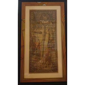 ART L' Autunno Alphonse Mucha [Ottimo]